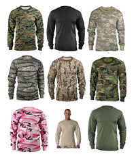 Camouflage Long Sleeve T-Shirt Army Military Shirts Tactical Hunting T shirt