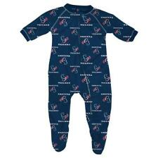 Houston Texans NFL Infant Footed Raglan Zip Up Sleeper