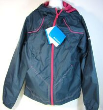 NWT Columbia Sportswear Girls Navy Wind Racer Spring Fall Jacket 10/12  14/16