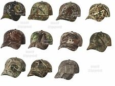 Kati Licensed Camo Cap With Velcro Baseball Hat LC15V Realtree Mossy Oak Max4 5