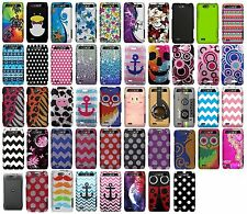 For Motorola Droid 4 XT894 Snap On Protector Rubberized Hard Cover Phone Case
