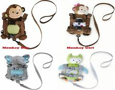 NEW CARTER'S Child of Mine Monkey Harness Backpack 2in1 Toddler Kids Leash Strap