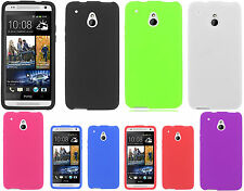 For AT&T HTC ONE MINI Rubber SILICONE Soft Gel Skin Case Phone Cover Accessory