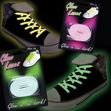 Glow In The Dark & LED Flashing Shoe Laces (Various Styles)
