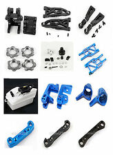 Blue Aluminum Upgrade Spare Parts For HSP 1/8 1:8 Scale RC Model Car Hobby