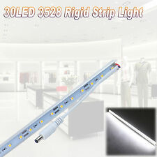 50CM Rigid 30 LED 3528 SMD Strip Light Cabinet Downlight Bar Lamp Caravan 12V