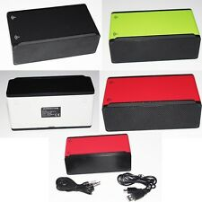 Interaction Wireless Portable Box Stereo Speaker For Samsung HTC LG Smartphone