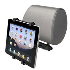 HEADREST CAR MOUNT VEHICLE SEAT BACK HOLDER CRADLE TRAVEL KIT FOR TABLETS & iPAD