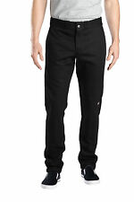 DICKIES WP811 MENS SKINNY STRAIGHT FIT DOUBLE KNEE WORK PANT CELL POCKET