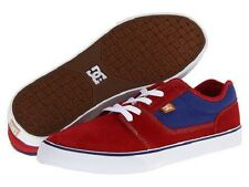 DC - BRISTOL Mens Shoes (NEW) Red Blue SKATE FOOTWEAR Free Shipping SIZE 10.5-13