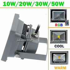10W 20W 30W 50W Waterproof LED Flood Light RGB Warm Day White Wall Wash Lights