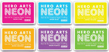 Hero Arts Neon Colors Stamping Dye Ink Stamp Pad Acid Free Archival Waterproof