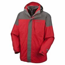 NWT Columbia Mens Red Gray Bugaboo 3-in-1 Interchange Parka L XL $230 SM7799-610
