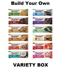 QUEST Protein Bars - BUILD YOUR OWN VARIETY BOX - ALL FLAVORS - FREE SHIPPING