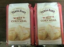 Tenda Bake Self Rising Corn Meal Mix Buttermilk or White Two 5 lb Bags