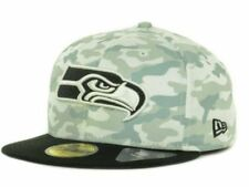 Official Seattle Seahawks New Era NFL Cover 2 Tone 59FIFTY Hat