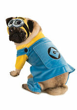 Despicable Me 2 Dog Costume Minion Sizes SM-MD-LG-XL
