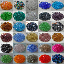 Wholesale!100-1000pcs 4-6mm swarovski crystal 5301 Bicone Beads, U Pick color