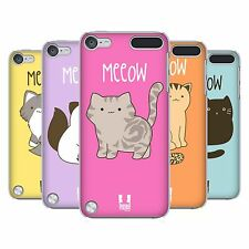 HEAD CASE DESIGNS KITTY CATS BACK CASE COVER FOR APPLE iPOD TOUCH 5G 5TH GEN