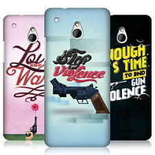 HEAD CASE DESIGNS STOP GUN VIOLENCE PROTECTIVE BACK CASE COVER FOR HTC ONE MINI