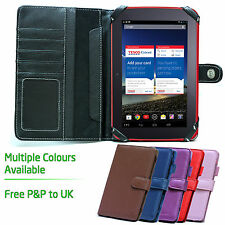 Stong-Hold Folio Book Style Case for 7 inch Tablets - Tesco Hudl 7""