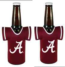 NCAA College Neoprene Bottle JERSEY Koozie Drink Holder 2 PACK - Pick Your Team!