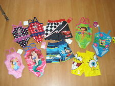 Disney OR Nickelodean Themed Infant/Toddler Boys OR Girls Swimwear