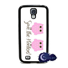 Save The Hooters - Breast Cancer Pink Owl Case for Samsung Galaxy S4 SIV Cover