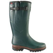 AIGLE PARCOURS 2 VARIO OUTLAST WELLINGTON WELLIES BOOT NATURAL RUBBER HUNTING
