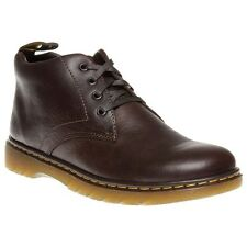 New Mens Dr. Martens Brown Barnie Leather Boots Work Lace Up
