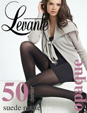 Levante Suede Matte 50 Denier Opaque Tights in 3 Colours! Opaque Pantyhose