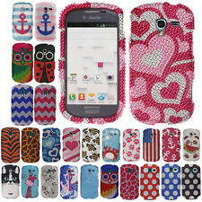 BLING Hard Snap Phone Protector Cover Case FOR SAMSUNG GALAXY EXHIBIT T599