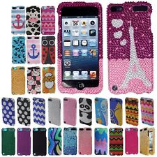 BLING Hard Phone Protector Cover Case FOR APPLE IPOD TOUCH 5 (5TH GENERATION)