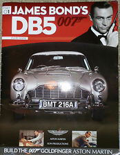 BUILD YOUR OWN JAMES BOND 007 ASTON MARTIN DB5 PARTS AND MAG  26 to 60 Eaglemoss