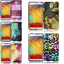 For Samsung Galaxy Note 3 Rubberized HARD Protector Case Snap On Phone Cover