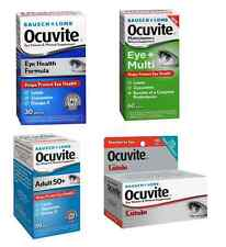 OCUVITE - PICK YOUR CHOICE ( Lutein, Eye + Multi, Eye Health, Adult 50 + ) New
