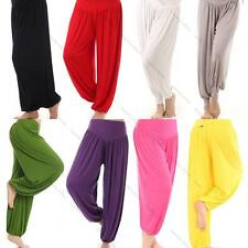 New Women Harem Yoga Casual Pant Belly Dance Comfy Loose Boho Wide Club Trousers
