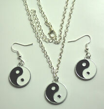 Chinese Feng Shui Ying / Yin Yang Charm Pendant Surf Necklace or Earrings