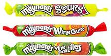 MAYNARDS WINE PASTILLES, SOURS, WINE GUMS - FRUIT FLAVOURED GUMS