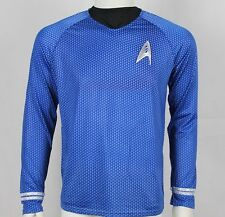 Spock Science Blue Shirt uniform costume star trek 2009