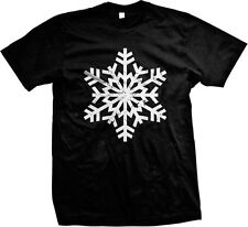 Snowflake- Winter Snow Holiday Funny Sayings Statements- Men's T-shirt