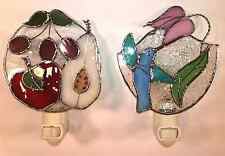 Gallery Art Night Light Genuine Handcrafted Cut Layered Stained Glass, Choose