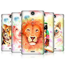 HEAD CASE DESIGNS WATERCOLOURED ANIMALS CASE COVER FOR SONY XPERIA TX LT29i