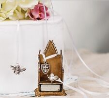 Beaucoup Wedding Cake Decoration Charms Silver Bridal Pulls - Various Designs