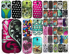 For Samsung Galaxy Light SGH-T399 Rubberized HARD Case Snap On Phone Cover
