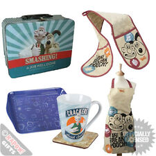 Wallace And Gromit Home Kitchenware Giftsets for Him Her Family Cooking Xmas