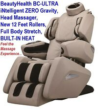 Brand New BeautyHealth BC-ULTRA Infrared Best Shiatsu Massage Chair ZERO GRAVITY