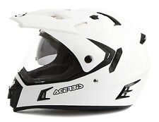 Casco Helmet Helm Capacete ACERBIS ACTIVE White bianco motard enduro quad atv