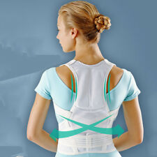 Posture Correction Waist Shoulder Chest Body Back Support Brace Belt Pain Relief