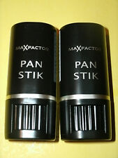 Two Max Factor Pan Stik Foundation / New Version Pan Sticks + Free Bonus Samples